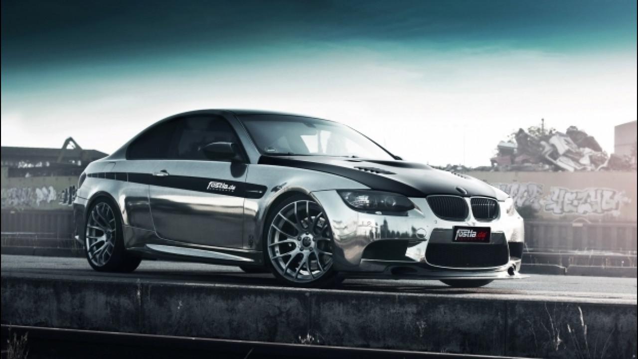 [Copertina] - BMW M3 coupé in black-chrome by Fostla.de
