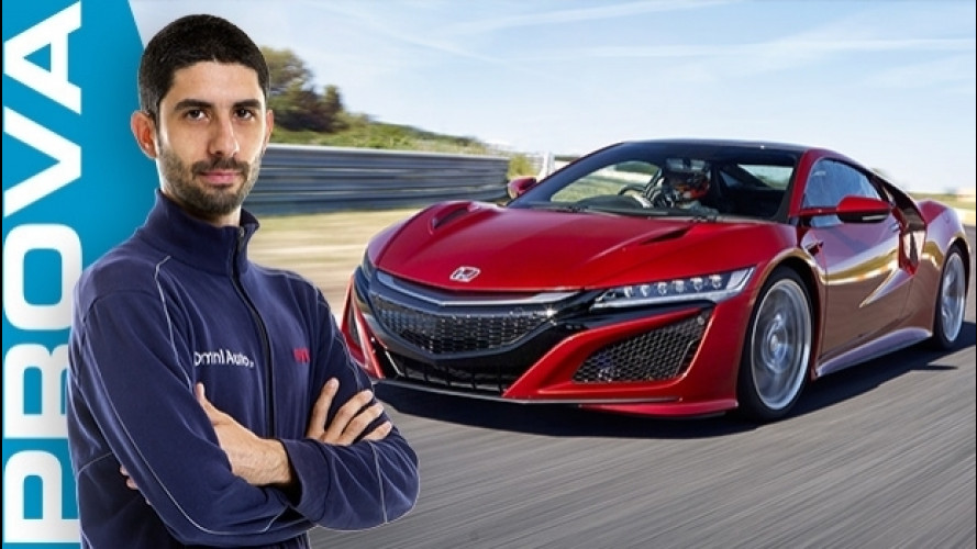 Honda NSX, la supercar intelligente [VIDEO]