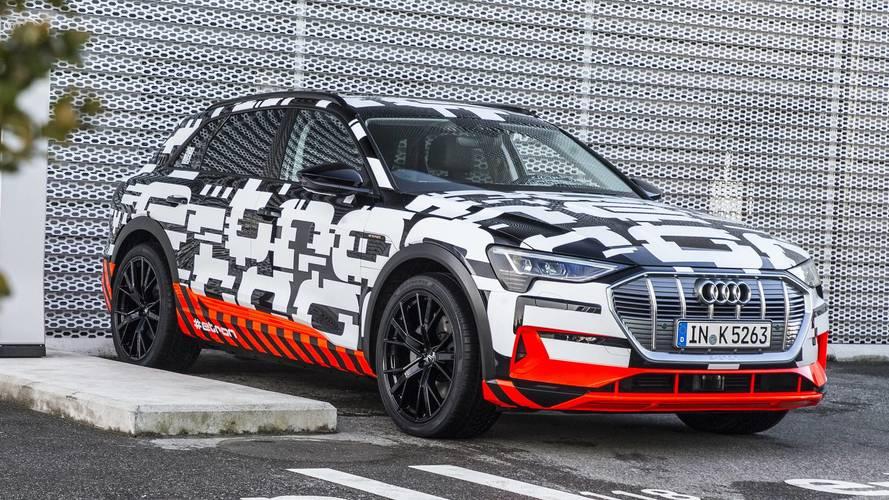 Audi e-tron Prototipo, a Ginevra è già su strada