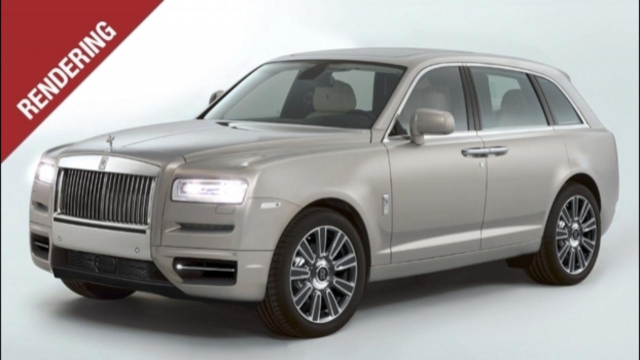 [Copertina] - Rolls Royce Project Cullinan, il SUV che non vuole esserlo