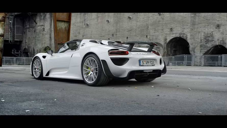 Porsche 918 Spyder In Top 5 Video Series