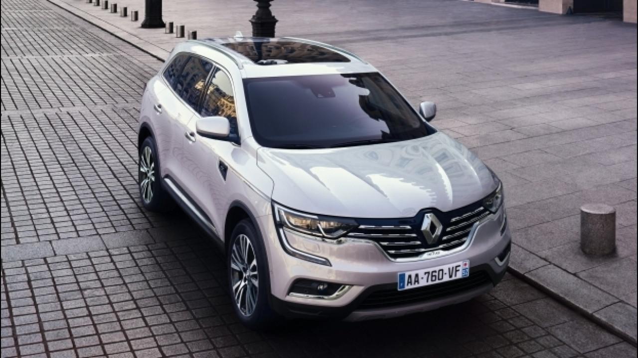 [Copertina] - Renault Koleos Initiale Paris, in Europa al top