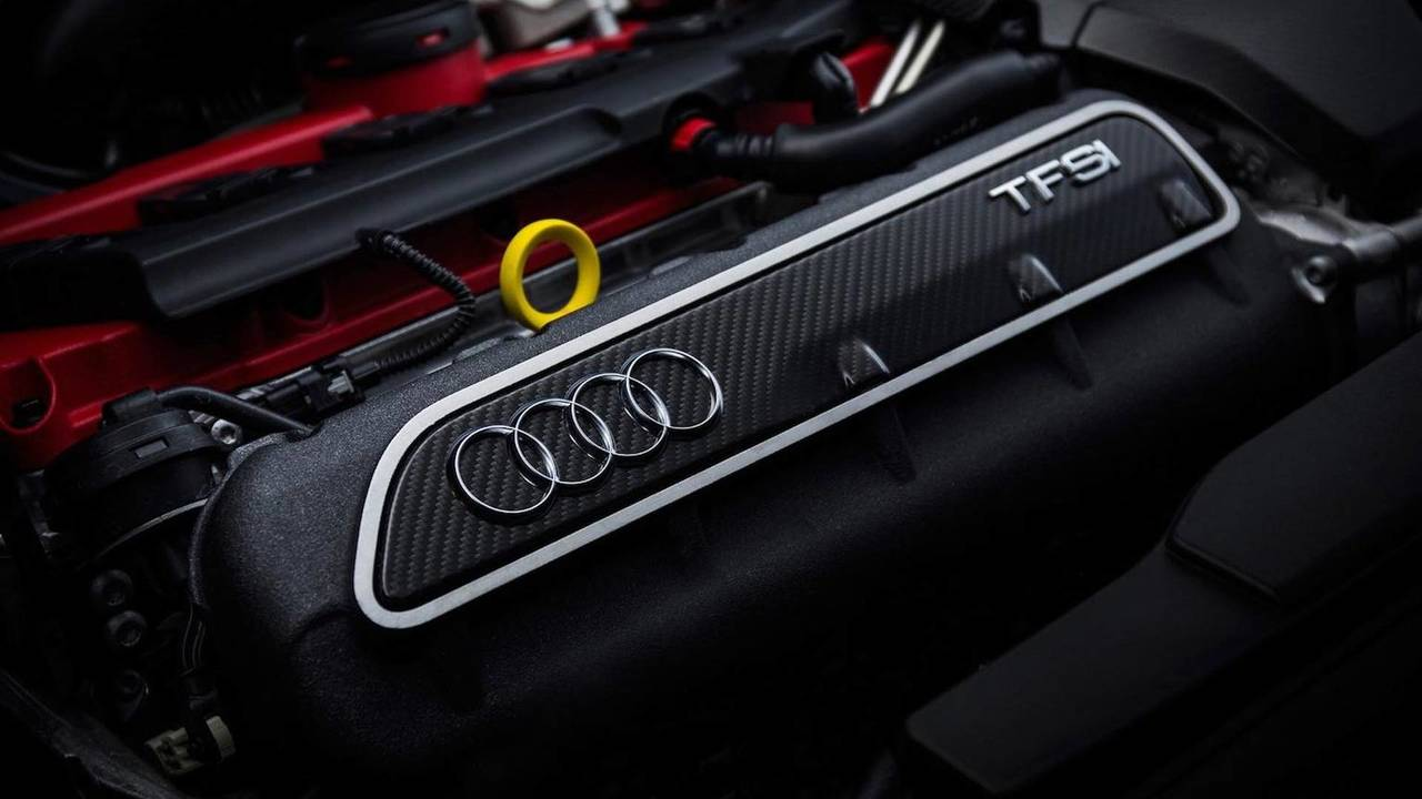 5 cilindros: motor 2.5 TFSI (Audi)