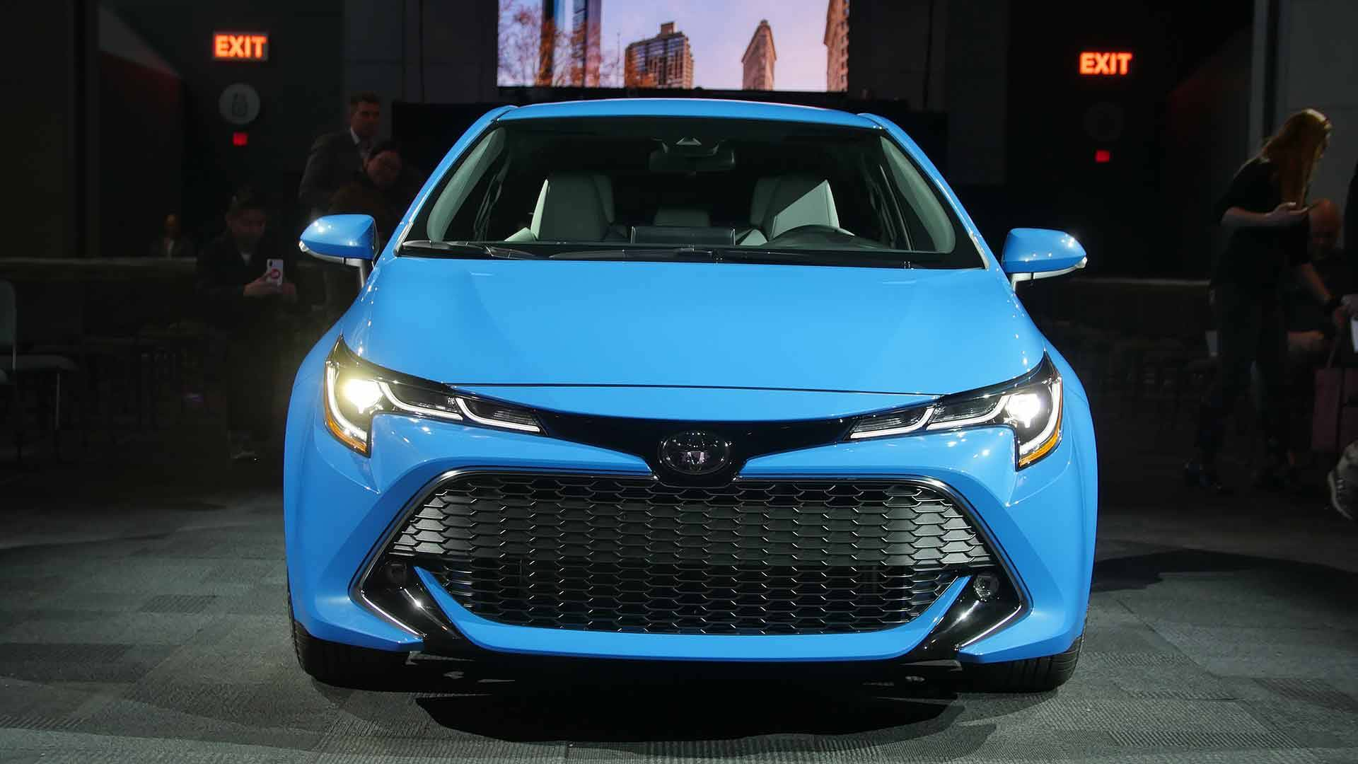 2020 Toyota Corolla Spied With Less Camo Hints Of New Design