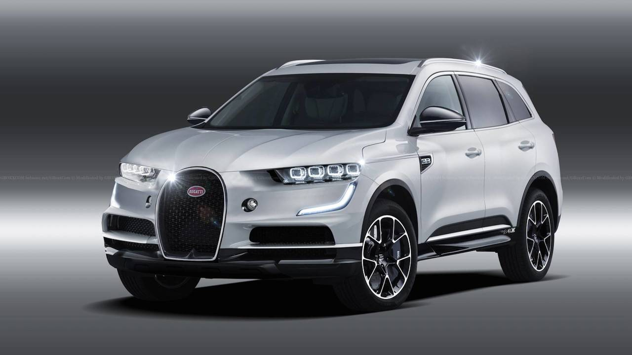 Lease A Suv >> Bugatti SUV Rendering Previews The Inevitable