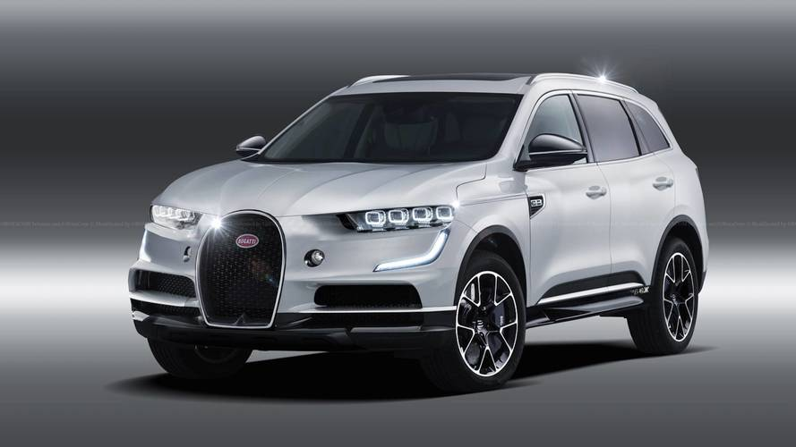 Bugatti SUV And Hybrid Powertrain Under Consideration Says CEO