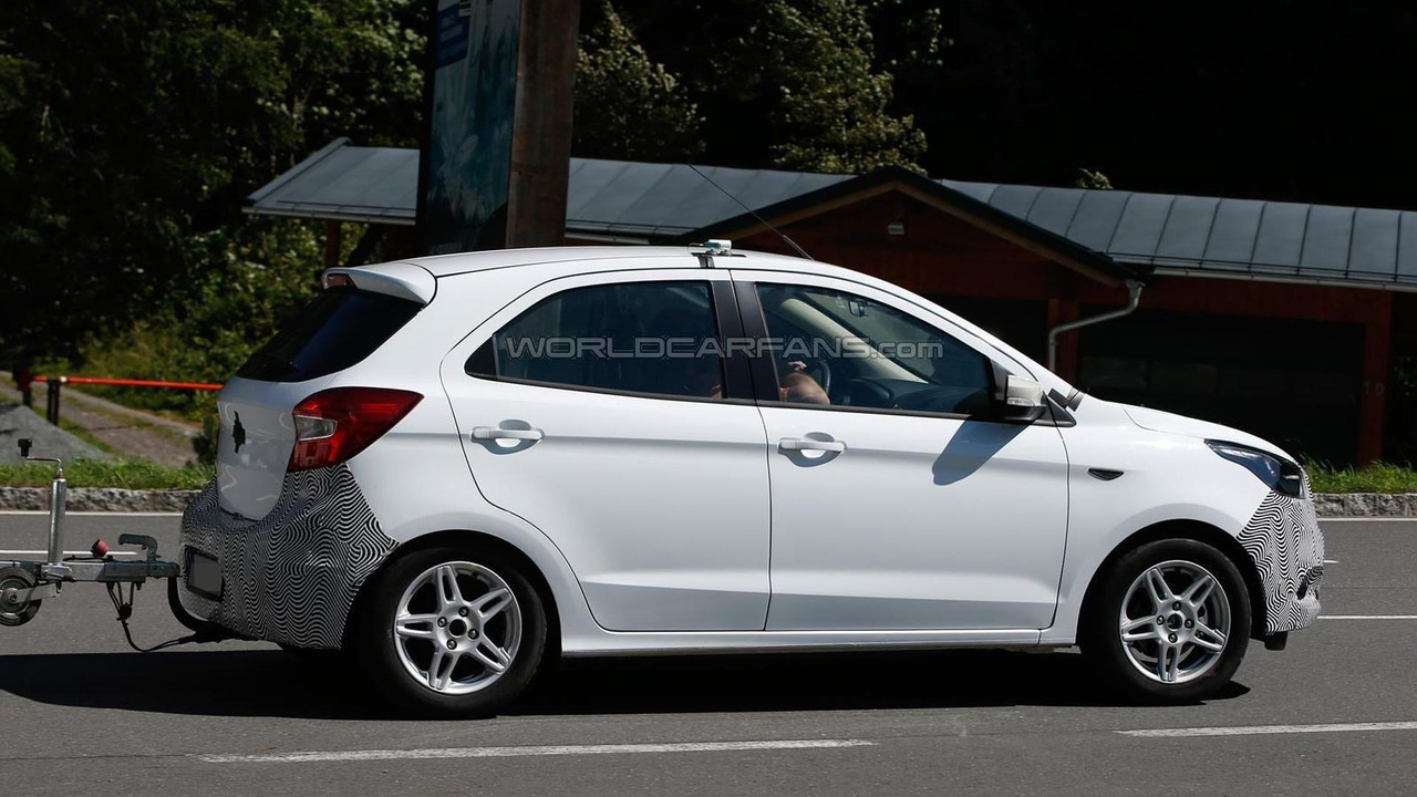 Ford Ka Euro Spec Spy Photo