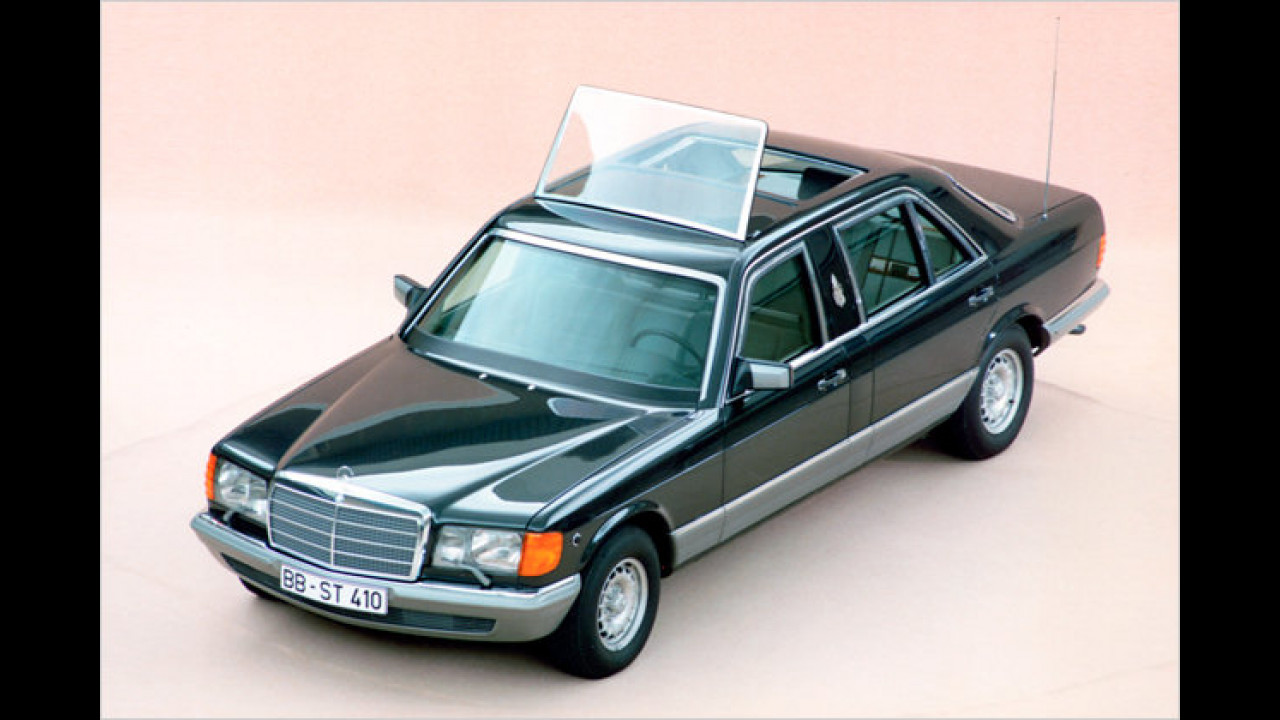 Mercedes 500 SEL ,Papstwagen