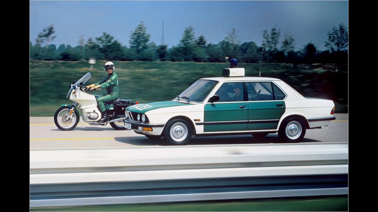BMW 5er (1981) und BMW R 100