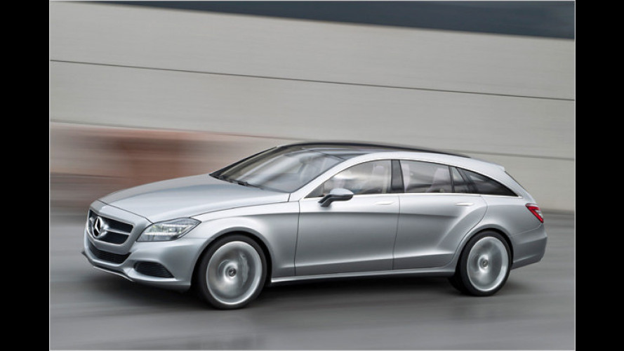 Mercedes CLS Shooting Brake: Kombi-Coupé kommt