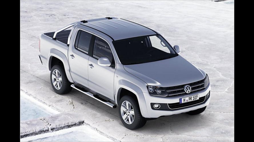 Amarok: Der VW-Pick-up startet mit drei Antriebsalternativen