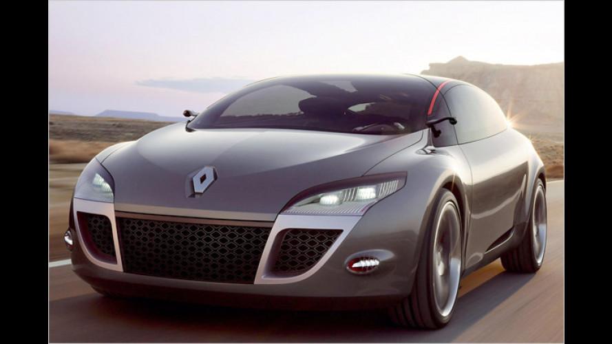 Renault Mégane Coupé: Flachdach-Studie für morgen