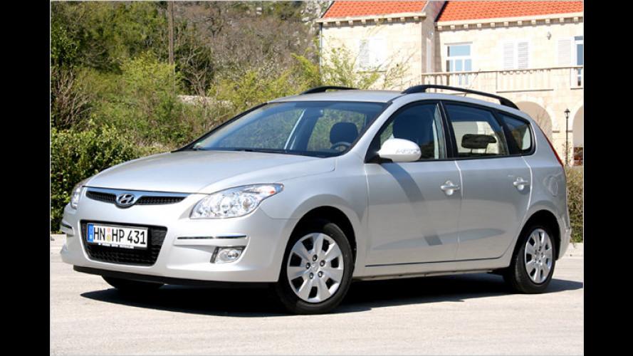 Günstiger Kompaktkombi: Hyundai i30cw mit 1,6-Liter-Diesel