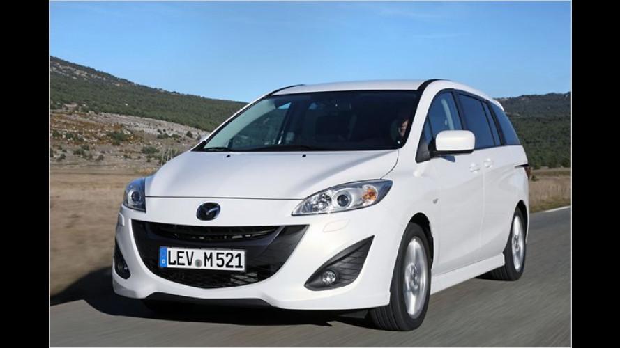 Ein Van wie ein Vulkan? Mazda 5 mit neuem Diesel im Test