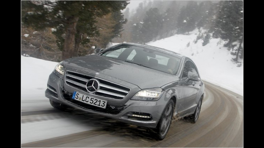 Mercedes CLS 350 CDI 4Matic im Test