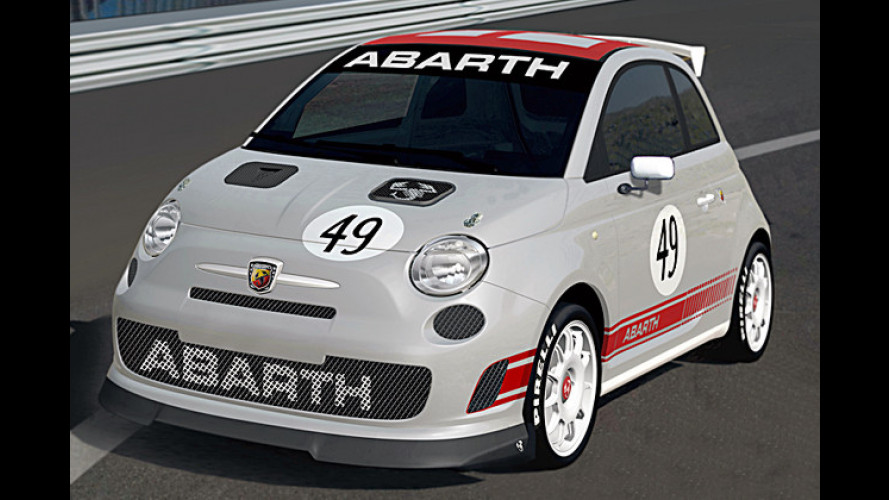 Abarth schickt den 500 Assetto Corse mit 200 PS auf die Piste