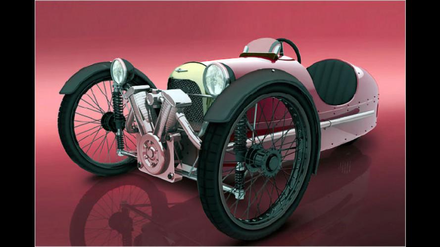 Zero-Emission-Morgan: Feiner Pedal-Brite