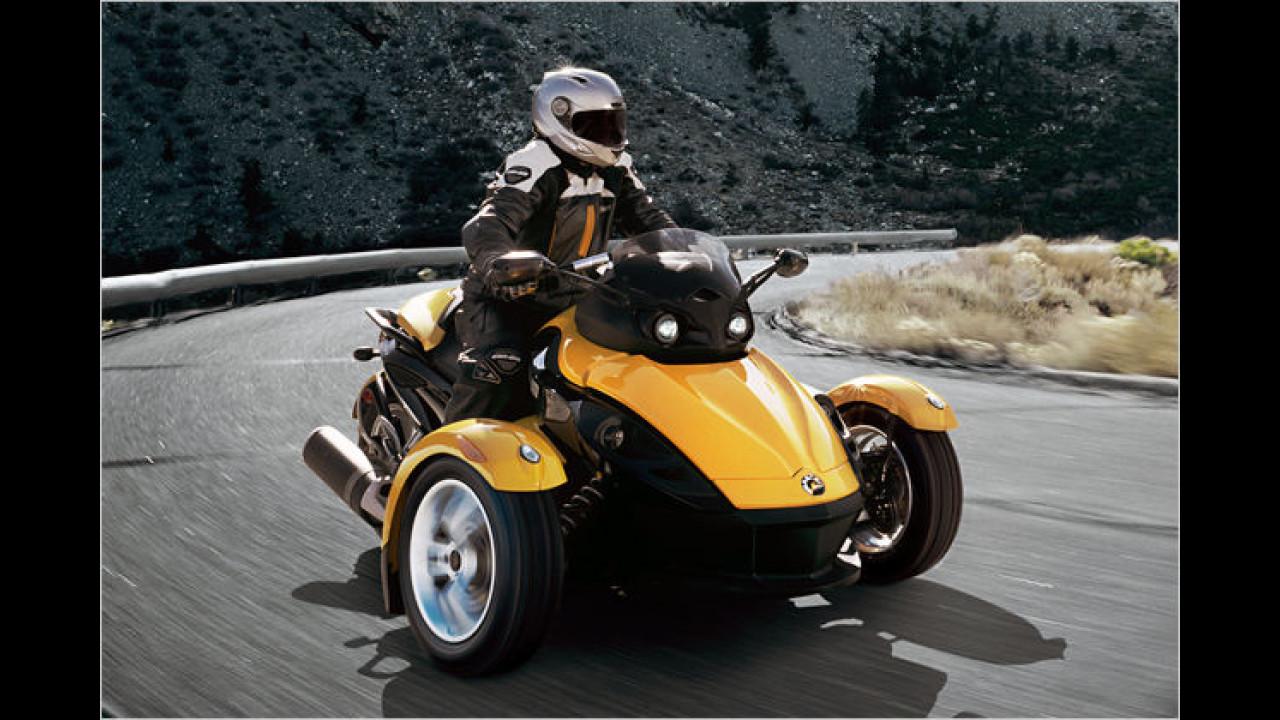 Der Auto-Motorrad-Zwitter
