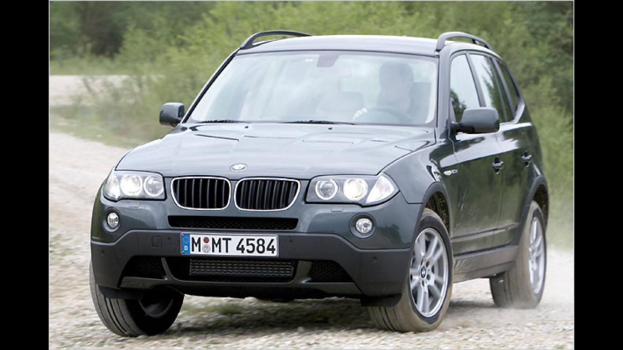 BMW X3 xDrive20d DPF