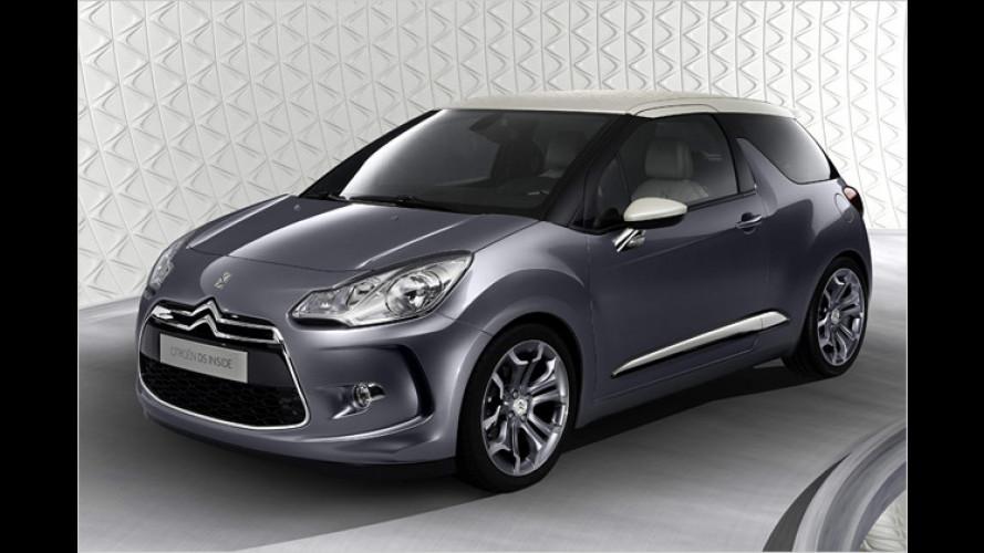 Citroën DS: Das Interieur des Lifestyle-Minis wird richtig fein