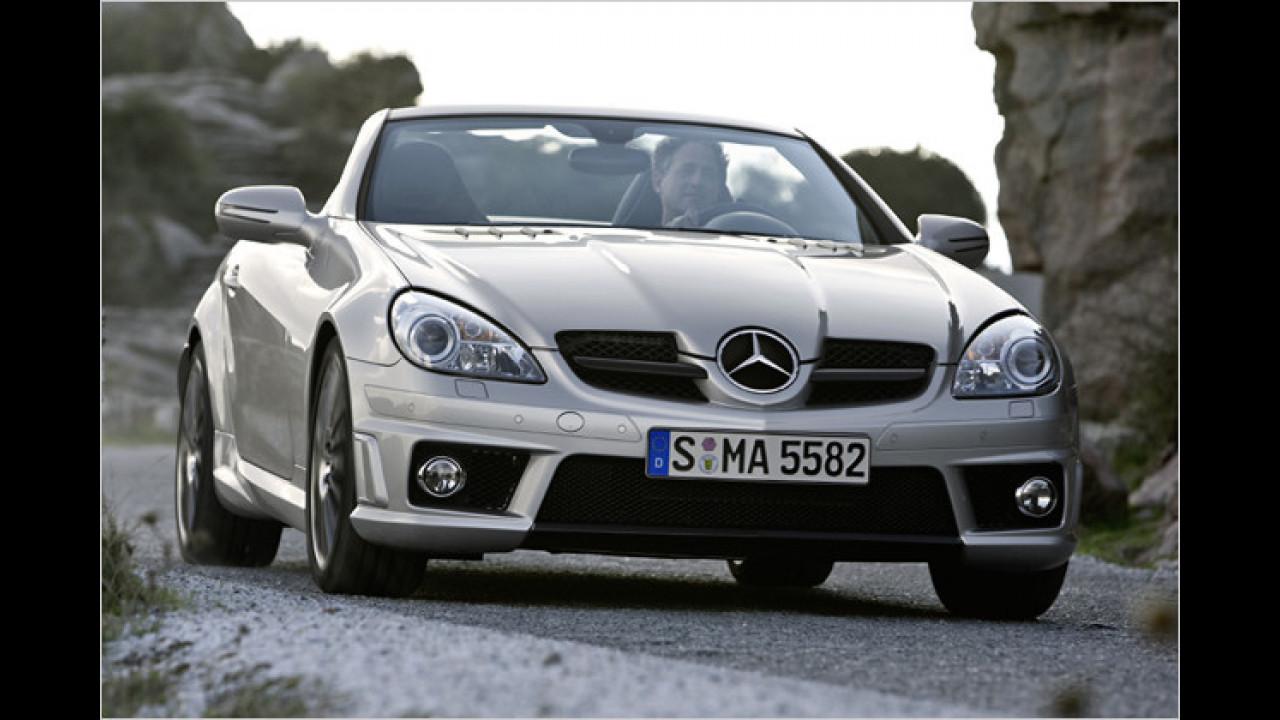Mercedes SLK 55 AMG 7G-Tronic