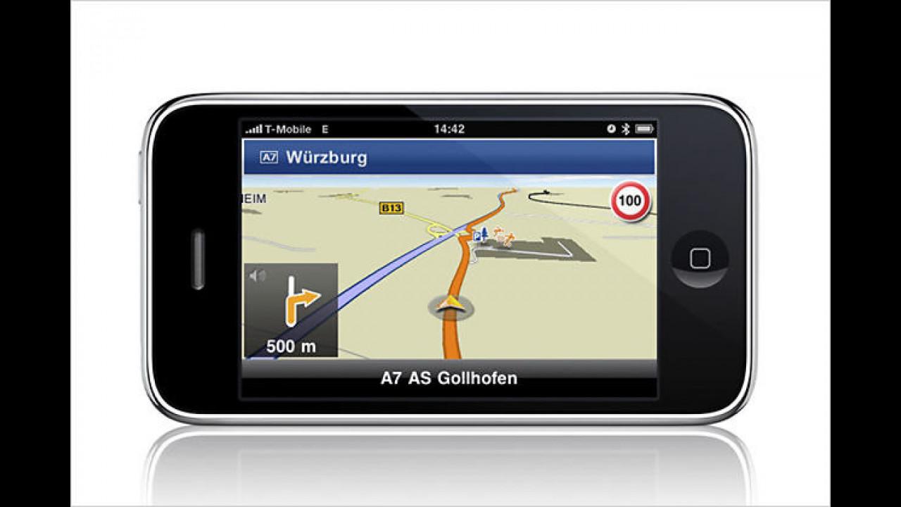 Navigon MobileNavigator fürs iPhone