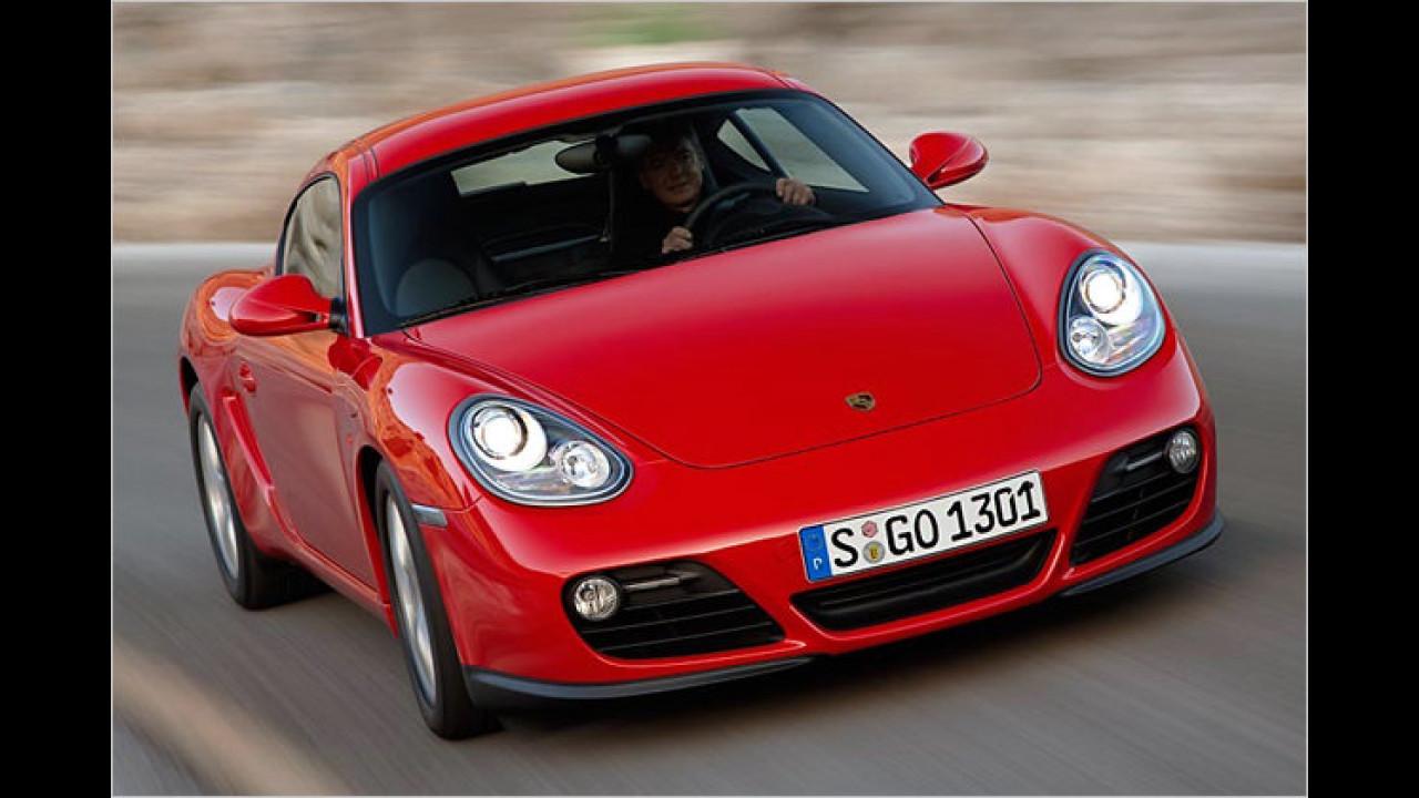 Laut GTÜ beispielhaft: Porsche Cayman