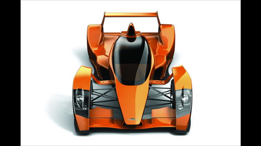 Caparo T1: Leichtbau-Sportler jetzt auch als