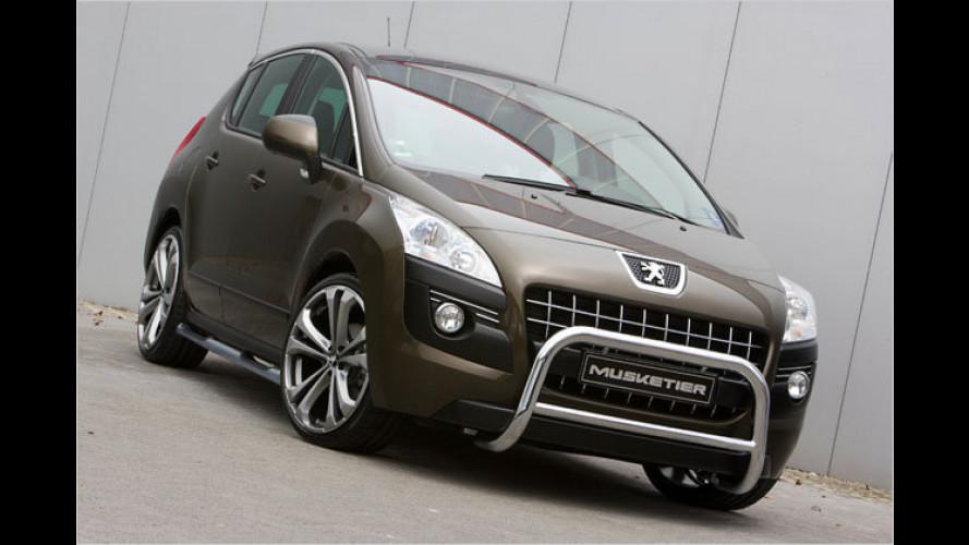 Musketier stärkt den Peugeot 3008