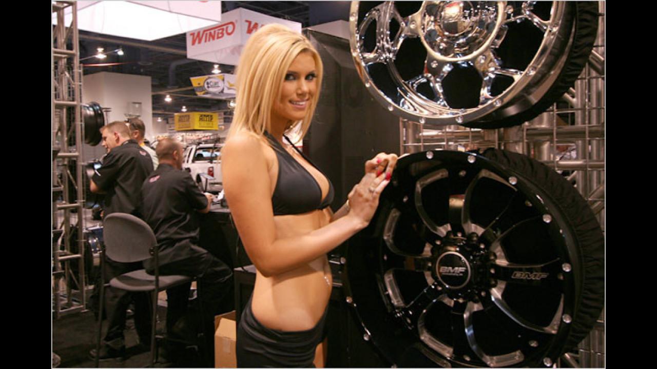 Ja, und Reifen gibts nebenan, oder was?
