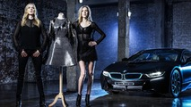 Carbon fiber dress inspired by BMW i