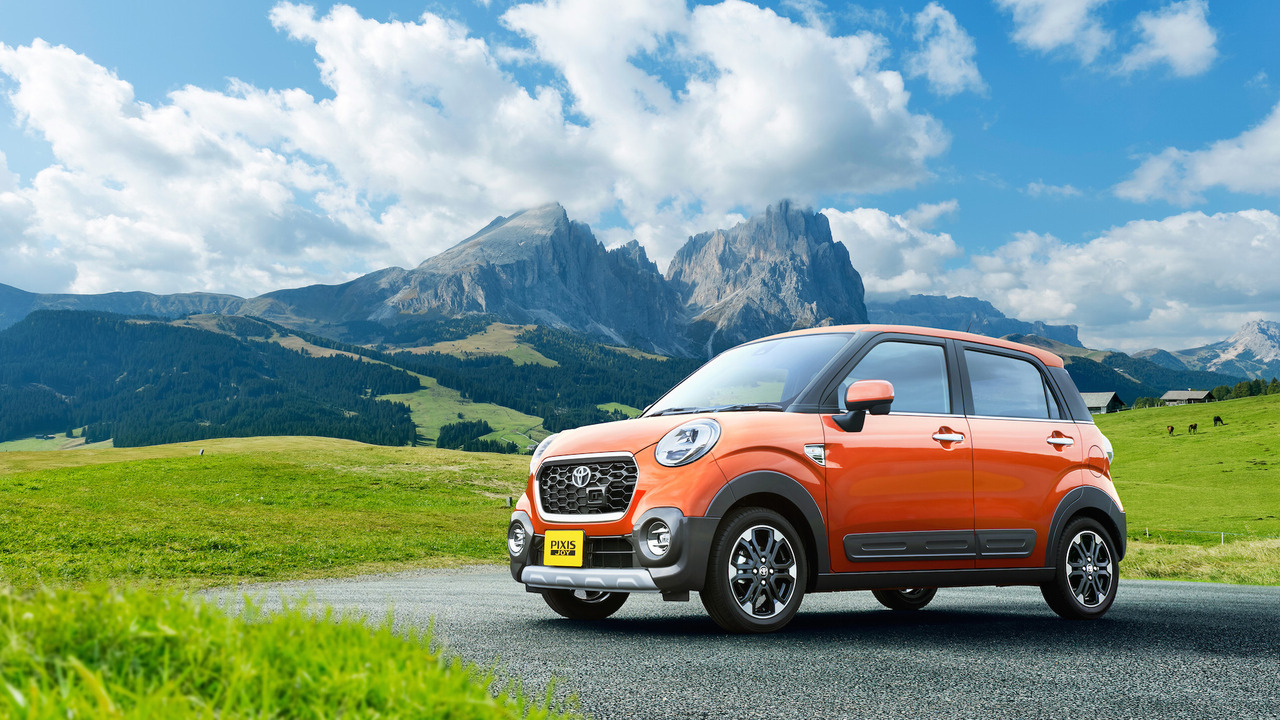 Toyota launches new Pixis Joy mini car in Japan