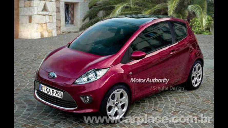 Vaza imagem do Novo Ford Ka europeu - Nova geração será fabricada pela Fiat