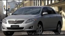 Toyota lança o Novo Corolla com motor 1.6 por R$ 59.999 na Reatech 2008