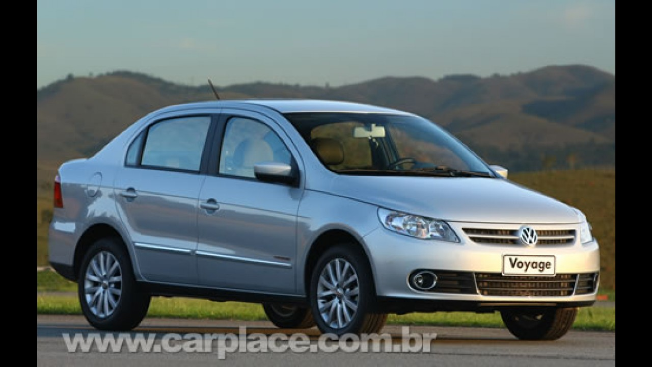 Veja a lista dos carros mais vendidos em fevereiro de 2009 - Voyage é destaque