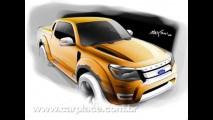 Nova Ford Ranger Max - Nova geração da pick-up será apresentada na Tailândia