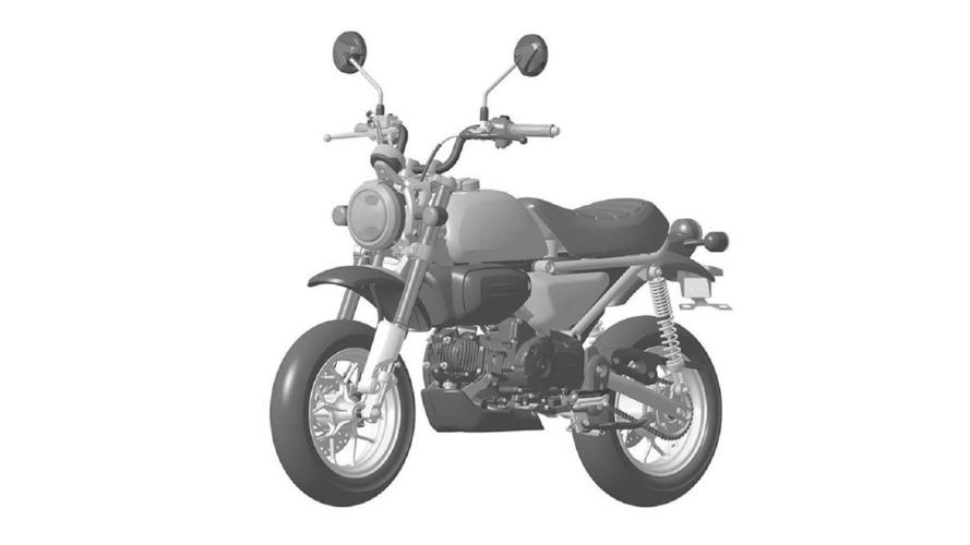 Honda 125 Monkey bike revealed?