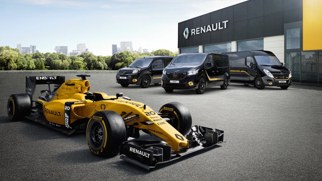 Renault Pro+ LCV F1 Edition