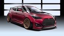 Gurnade Hyundai Veloster konsepti