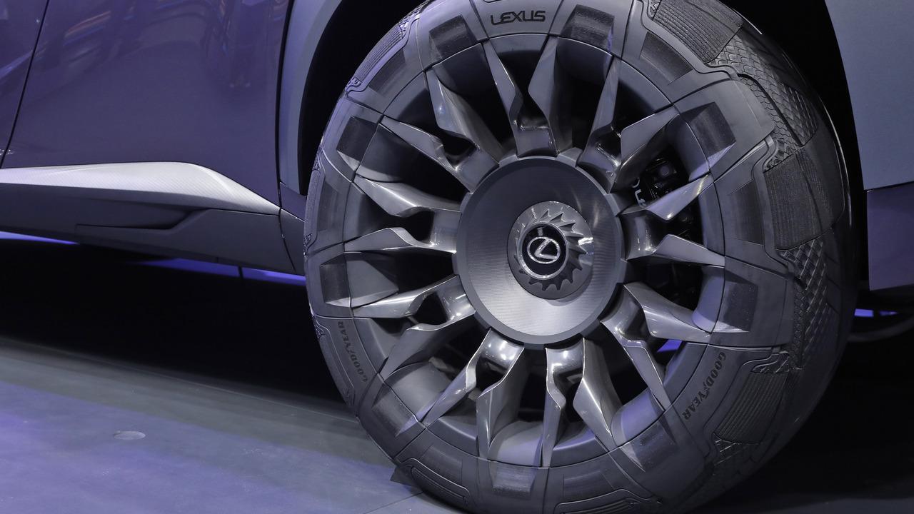 Goodyear, yeni Lexus UX için konsept lastik geliştirdi