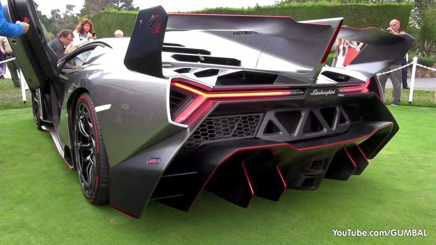 Bize göre Lamborghini'nin en çılgın tasarımı Veneno