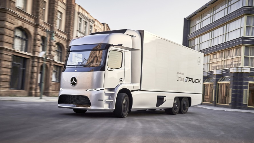 Mercedes Urban eTruck konsepti 200 km menzile sahip