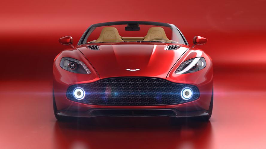 Aston Martin Vanquish Zagato Volante - Son prix en fait un véritable produit d'exception