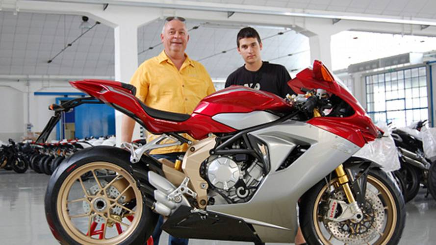 The first 200 MV Agusta F3s will look like this