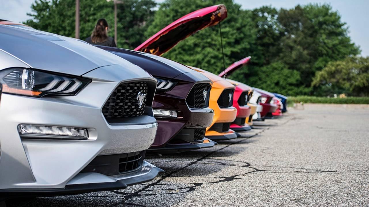 10 Milyonuncu Ford Mustang