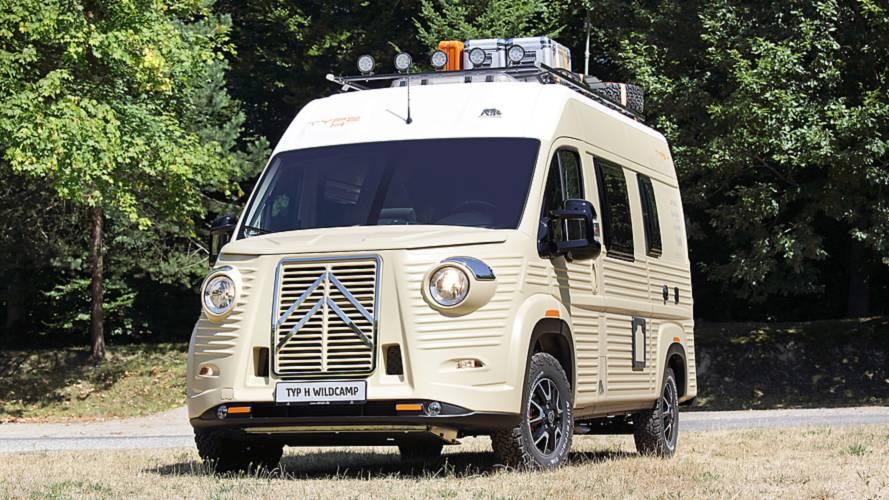 El Citroën Type H está en plena forma: lo mejor para irse de camping