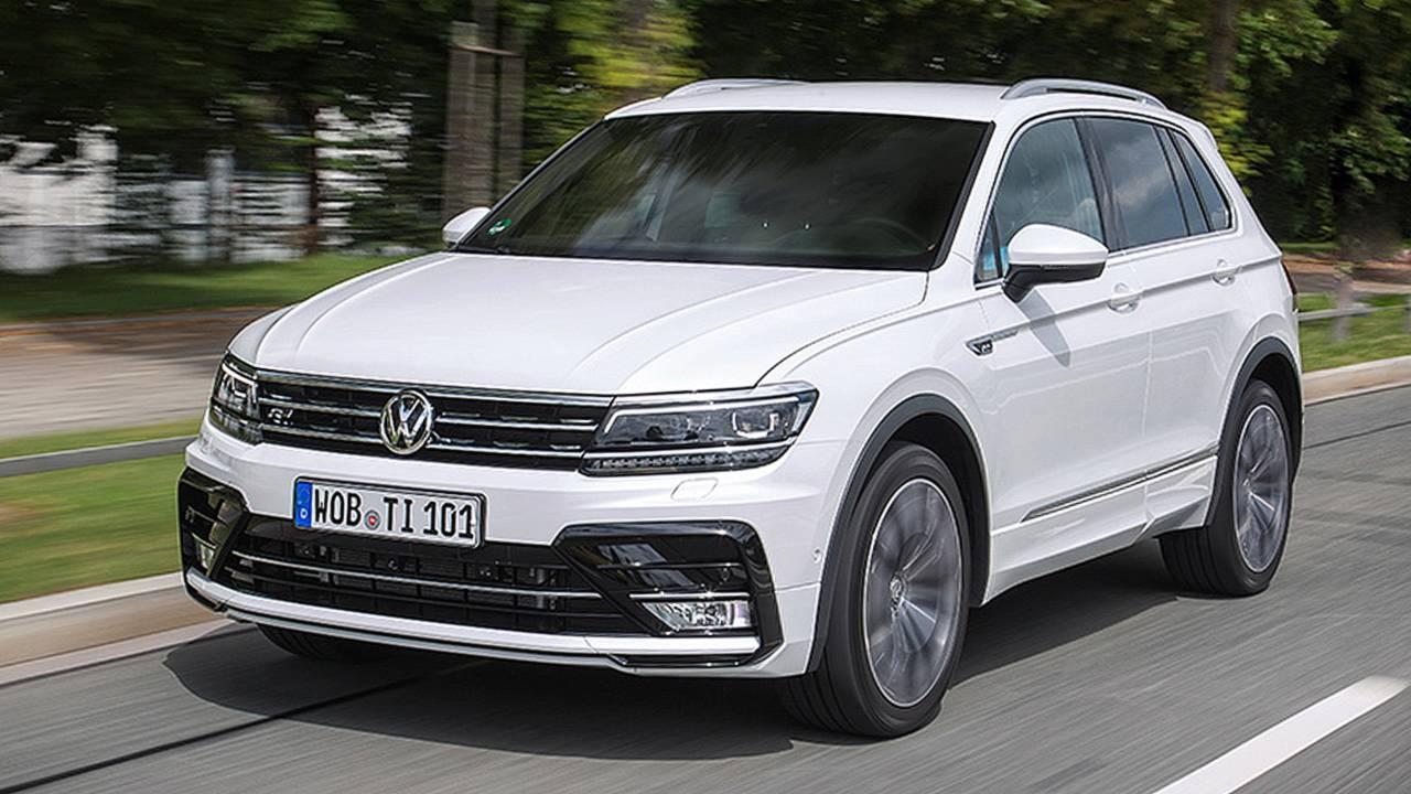 Platz 2: VW Tiguan (2. Generation)