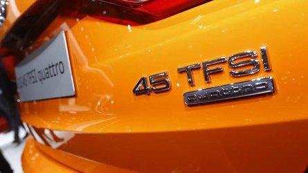 Audi Q3 at the Paris Motor Show