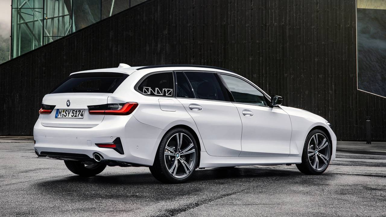2020 bmw 3 series wagon render brings sexy back. Black Bedroom Furniture Sets. Home Design Ideas