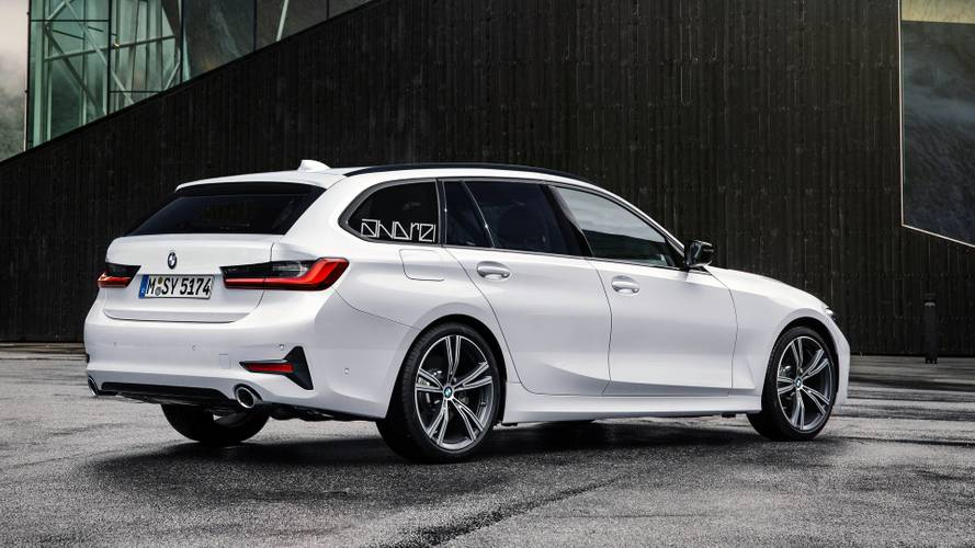 Render BMW Serie 3 Touring 2020